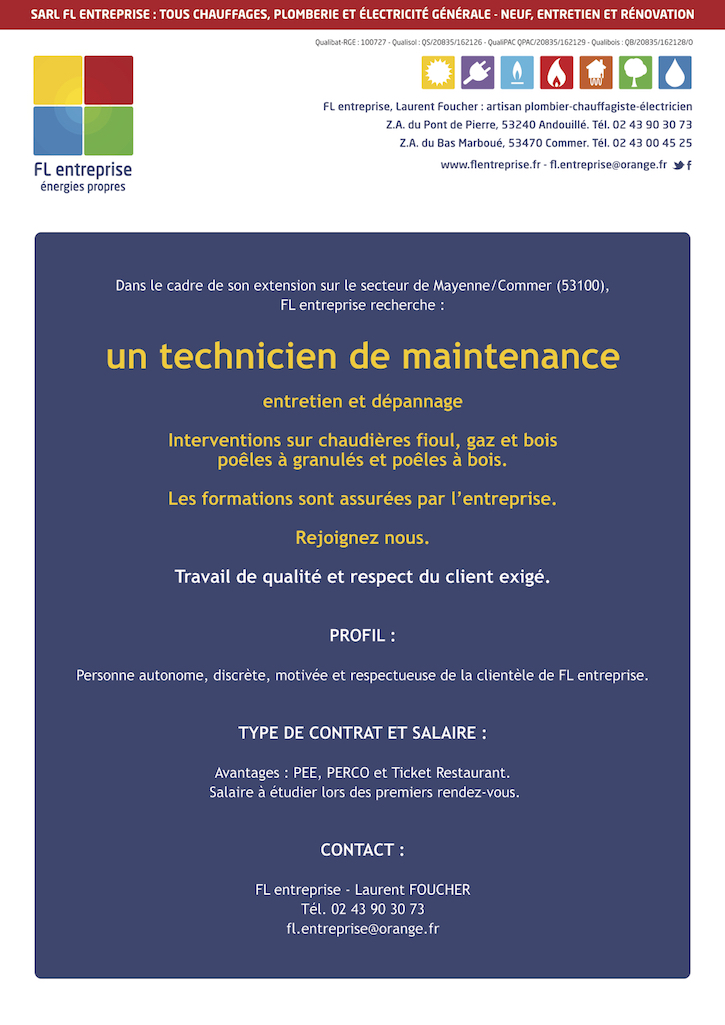 flentreprise-recrutement-technicien-maintenance